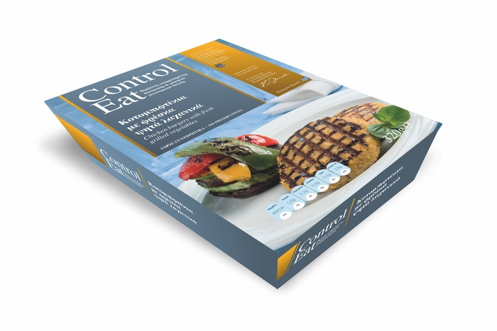 Control Eat, 12 Traditional recipes, beloved flavors of Greece, for the first time in a unique low glycaemic index execution.