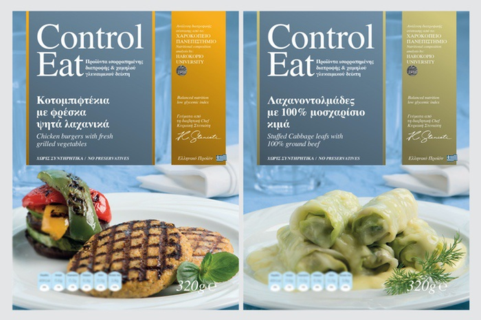 Control Eat, Our meals have been researched, through clinical study and dietary controls by Harokopio University of Athens