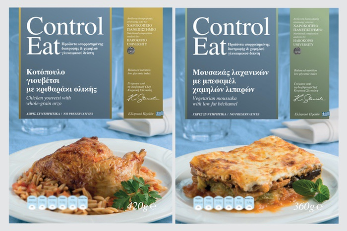 Control Eat, Creations By The Diabetic Chef Kyriaki Stenioti