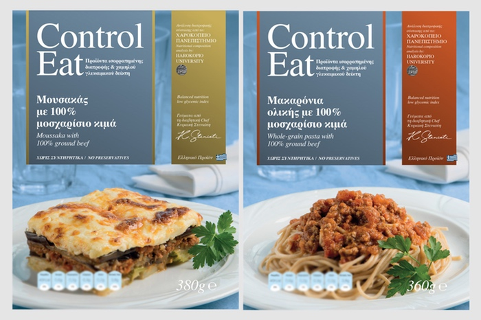 Control Eat, A Complete Range Of Ready Meals, low Glycaemic Index, low Glycaemic Load & Low Fat.