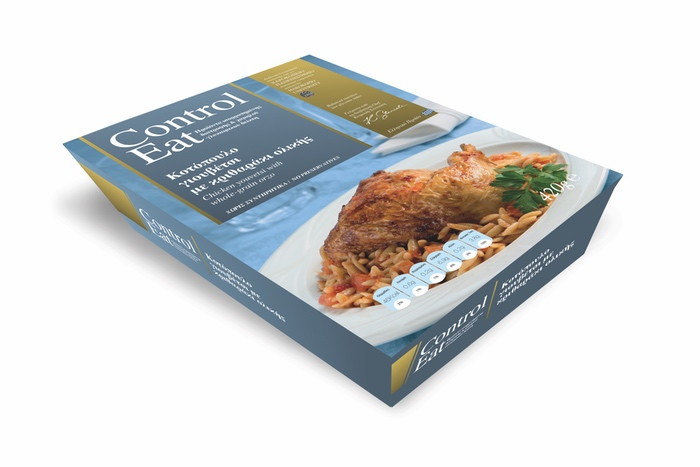 Control Eat, a range of dishes effective, palatable and practical solutions to diabetic patients.