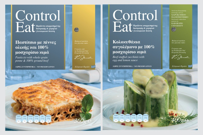 Control Eat® ready meals have been researched by the Department of Nutrition and Dietetics, Harokopio University of Athens, through clinical study and dietary controls, and recommended as ideal for diabetics.